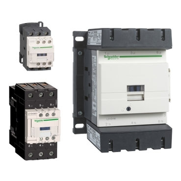 Contactors up to 150 A for AC3